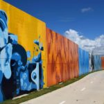 Moreton Bay Rail Project - mural